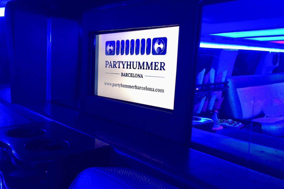 17.hummer limusina blanca